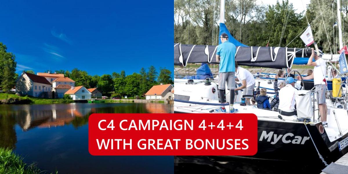 Campaign 4+4+4 | COSCO Customer Care Centre | cosco.ee